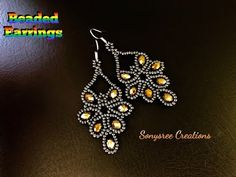 Hi jewelry lovers. Today i will add Crystal Beads Earrings to our earring arcive. I think you will like our earrings models page very much. Seed Bead Jewelry, Bead Jewellery, Seed Bead Earrings, Diy Earrings, Earrings Handmade, Handmade Jewelry, Hoop Earrings, Diy Jewelry, Seed Beads