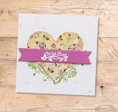Even more inspiration for your 3-in-1 rose garden collection! | cardmakingandpapercraft.com