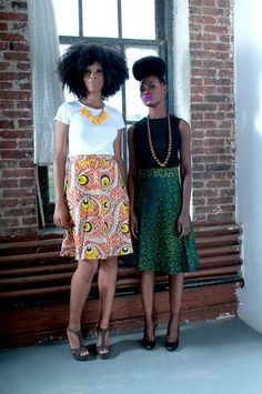 Ayanda circle skirt by Tatusi