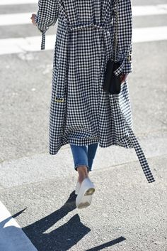 *** Trench coat – Sonia Rykiel (here and here | similar style for less here) Jeans – Frame Denim (here) Flats – Chanel (bought them here for less!)