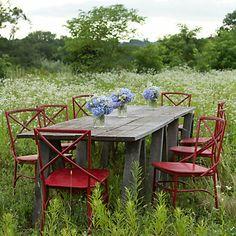 Terrain: Cross Back Dining Chair