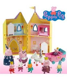Buy Peppa Palace Value Set at Argos.co.uk - Your Online Shop for Peppa Pig toys, Animal playsets and collectables, Pre-school.