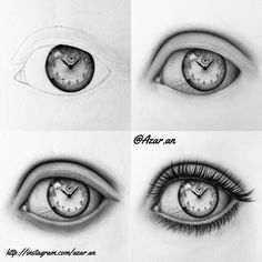 - 🔥AZAR'S ART - How to draw eye Step by step 👁 So here is another tutorial. Eyelash Perm, Eyelash Extensions, Pencil Drawings, Art Drawings, Eye Sketch, Eye Tutorial, Wow Art, Sketch Inspiration, Drawing People