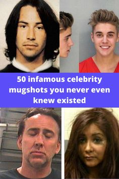 Celebrity mug shots are quite intriguing because they make us realize that these famous people are human, too. They too commit mistakes and get arrested from time to time, despite being in Hollywood. The following slides are 50 celebrity mug shots that will make you see your favorite celebrities in a different light. Celebrity Mugshots, Acne Skin, Glam Makeup, Backpacker, Mug Shots, Fast Fashion, Towers, In Hollywood, Aliens