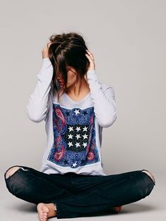 We The Free Lucky Stars Tee at Free People Clothing Boutique