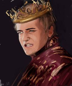 Joffrey Baratheon - Game of Thrones - Nagy Norbert