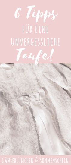 6 Tipps für eine unvergessliche Taufe 6 tips for an unforgettable baptism – that's what you need for the special party! Including playlist and give-away ideas Co Parenting, Parenting Quotes, Baby Co, Baby Baby, Christening, Baby Baptism, Baptism Ideas, Daisy, Kids Fashion