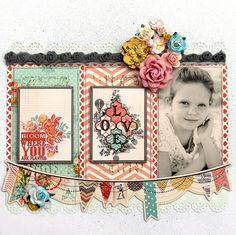 Love MS 1 by marieetmichael via Flickr  love the banners and borders