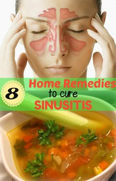 8 Effective Home Remedies to Cure #Sinusitis !