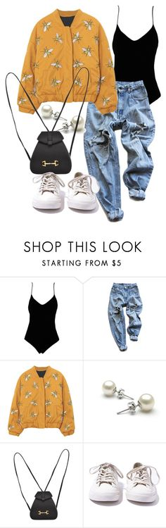 """""""Untitled #21560"""" by florencia95 ❤ liked on Polyvore featuring .mcma., Levi's, Gucci and Converse"""