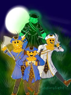 The Golds Watchers by SadinyLigth on DeviantArt Scary Images, Flower Art Drawing, Flying Dutchman, Falling In Love With Him, Gremlins, Best Games, Creepy, Cool Art, Art Drawings