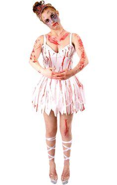 zombie ballerina costume - Dead Ballerina Halloween Costume