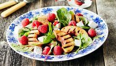 Vadelma-nektariinisalaatti - K-ruoka