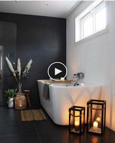 Beautiful By Welcome to the world of ) Get your interior inspiratio Das Badezimmer wird immer moderner wohnlicher und ersetzt auch schon mal den Spa Bad Inspiration, Bathroom Inspiration, Interior Inspiration, Bathroom Ideas, Wc Bathroom, Master Bathrooms, Bathroom Organization, Bathroom Storage, Remodel Bathroom