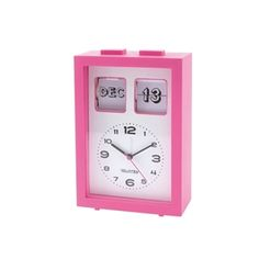 £12.99 Play.com - Buy Calender Flip Alarm Clock - Pink online at Play.com and read reviews. Free delivery to UK and Europe!