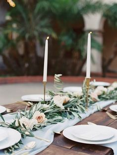 simply chic green wedding idea; photo: Carmen Santorelli