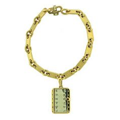 1970s Cartier Gold Zodiac Charm Bracelet