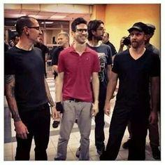 Chester, Brad, Rob, and Phoenix