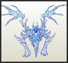 DotA 2 - Nevermore the Shadow Fiend Free Papercraft Download - http://www.papercraftsquare.com/dota-2-nevermore-shadow-fiend-free-papercraft-download.html