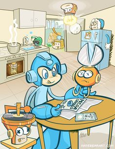 Mega Man Tribute on Behance