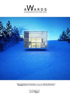 The idea of the project was to create the cheapest house Cheap Houses, Cabana, Environment, Mansions, House Styles, World, Building, Projects, Create
