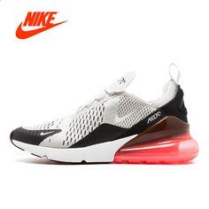 Originální originální Nike Air Max 270 pánské běžecké boty tenisky  Sportovní venkovní pohodlné prodyšné Athletic Good AH8050-002 011ae786177