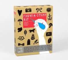 Carve A Stamp Kit from Yellow Owl Workshop