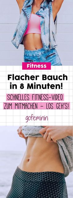 Schnelles Fitness-Video zum Mitmachen!