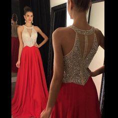 New Arrival prom dress,Elegant Sleeveless prom dresses, Beading prom dress Long Prom Dress,Evening Dress,PD160179