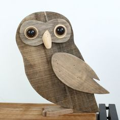 Vintage Wooden Animal Decorations Recycled ArtWood & Organic
