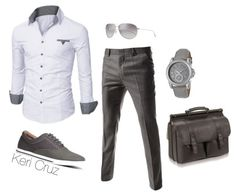 A fashion look from February 2015 featuring dress pants, leather bags und leather watches. Browse and shop related looks.A fashion look from February 2015 featuring dress pants, leather bags und leather watches. Browse and shop related looks. Fashion Moda, Look Fashion, Fashion Outfits, Mens Fashion, Leather Fashion, Fashion Clothes, Fashion Trends, Mode Masculine, Gq Style