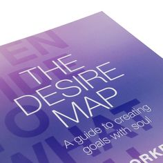Bring your soul into your goal setting with The Desire Map. Amazing tool to explore your growth. (affiliate link)