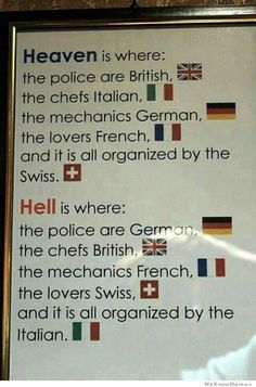 heaven is where the police are british