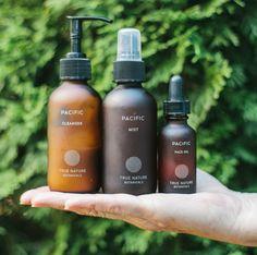 Night Serum with Retinol and Vitamin C Capsules - True Nature Botanicals natural skincare line