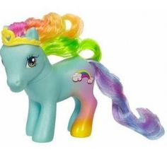 My Little Ponies. I think I had this exact one, too!