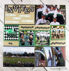 Kendra's Paper Creations: Marching Band
