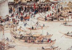 China's Grand Canal, the longest in the World Taiping Rebellion, Yangzhou, Yellow River, China Map, Luoyang, Tianjin, Suzhou, Grand Canal, Beijing