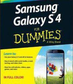 Samsung Galaxy S 4 For Dummies PDF