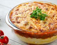 Polenta minceur façon Parmentier inversé à la tomate