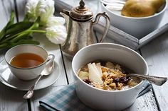 Birnen-Amaranth Porridge