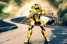 Master of Arts: Halo warrior