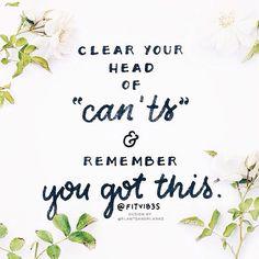 Mantra du jour Peu importe votre objectif croyez en vous et donnez vous les moyens de réussir! Quote of the day Be confident and proud of yourself! by healthy_juliette
