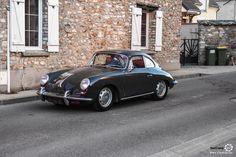 Porsche 356 à la Nocturne by l'Etrier. Reportage complet : http://newsdanciennes.com/2017/01/23/rallye-nocturne-by-letrier-2017-surprises-et-succes-au-rendez-vous/