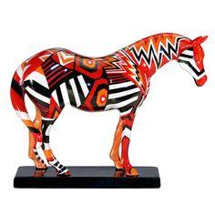 The Trail of Painted Ponies - Navajo Blanket Pony