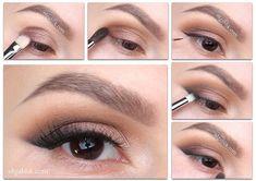 Ideas Makeup Ideas Step By Step Eyeliner Eyeshadows Make Up For 2019 Eyeliner Make-up, Eyeliner Hacks, Makeup Tutorial Eyeliner, Simple Eyeliner, Perfect Eyeliner, Eyeliner Styles, How To Apply Eyeliner, Eyeliner Ideas, Makeup Tips