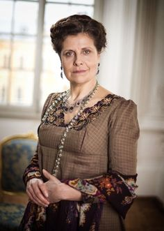 Rebecca Front as Anna Mikhailovna in War & Peace