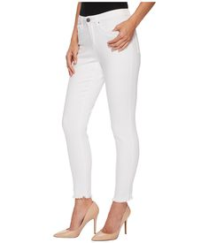 94b7794064 Fdj french dressing jeans sunset hues olivia slim ankle in white