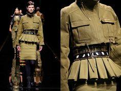 Стиль милитари в одежде 2014 (38 фото)
