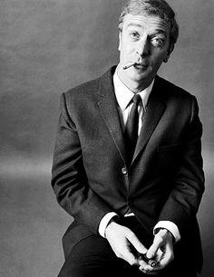 Michael Caine fotografiado por Brian Duffy, 1964