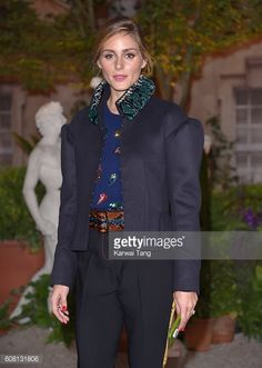 Olivia Palermo attends the Burberry show during London Fashion Week Spring/Summer collections 2016/2017 at Makers House on September 19 2016 in...